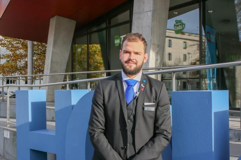 Johannes Löffler – Student und ehrenamtlicher Projektleiter der Hoko 2018