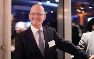 Christian Braun bei seinem Vortrag auf der VDI-Preisverleihung.