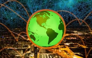 Vernetzungen einer Stadt für Klimaschutz