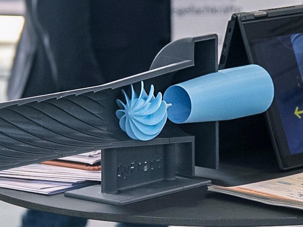 Rohr mit spezieller Innengeometrie von CyFract.