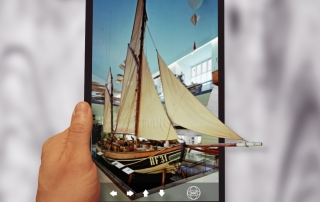virtuelle Museumsrundgänge auf dem Tablet