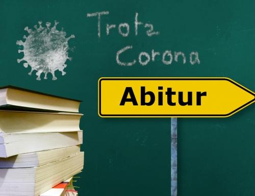Abitur 2020 – das kann selbst Corona nicht aufhalten